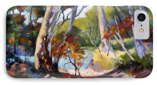 IPhone Case featuring the painting Australia Revisited by Rae Andrews