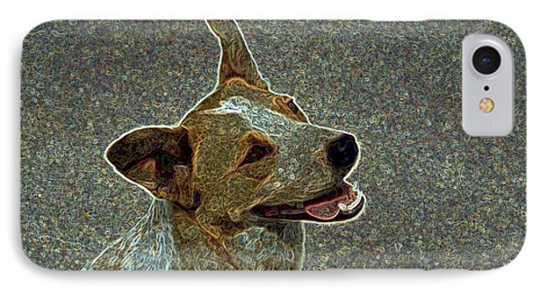 Australian Cattle Dog Mix Phone Case by One Rude Dawg Orcutt