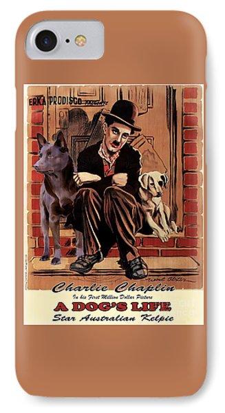 Australian Kelpie - A Dogs Life Movie Poster IPhone Case