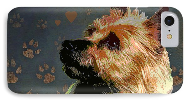 Australian Terrier Phone Case by One Rude Dawg Orcutt