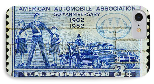 IPhone Case featuring the photograph Automobile Association Of America by Andy Prendy