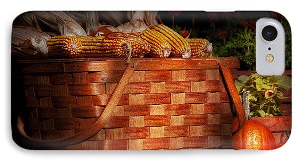 Autumn - Gourd - Fresh Corn Phone Case by Mike Savad