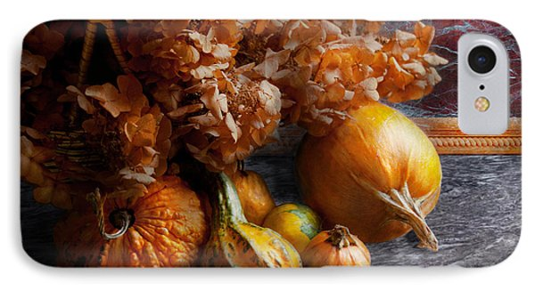 Autumn - Gourd - Still Life With Gourds Phone Case by Mike Savad