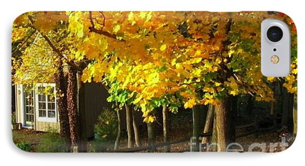 Autumn At Bayberry Cottage  Phone Case by Nancy Patterson