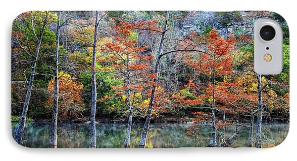 Autumn At Beaver's Bend Phone Case by Tamyra Ayles