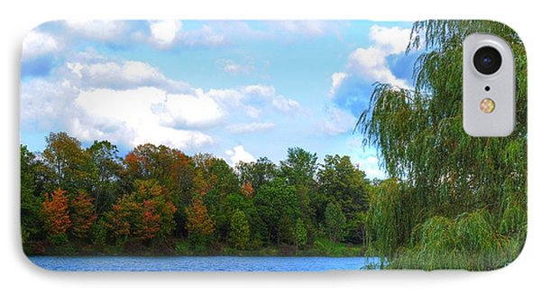 IPhone Case featuring the photograph Autumn At Hoyt Lake by Michael Frank Jr