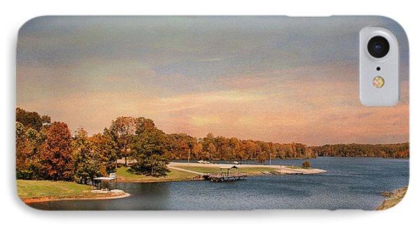 Autumn At Lake Graham 2 Phone Case by Jai Johnson