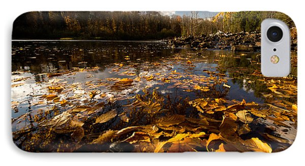 Autumn At Ragged Falls IPhone Case by Cale Best