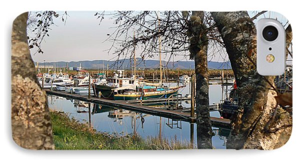 Autumn At The Harbor Phone Case by Pamela Patch