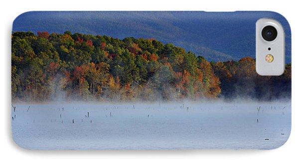 Autumn Backdrop Phone Case by Douglas Barnard