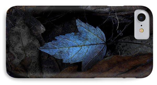 Autumn Blue Phone Case by Ron Jones
