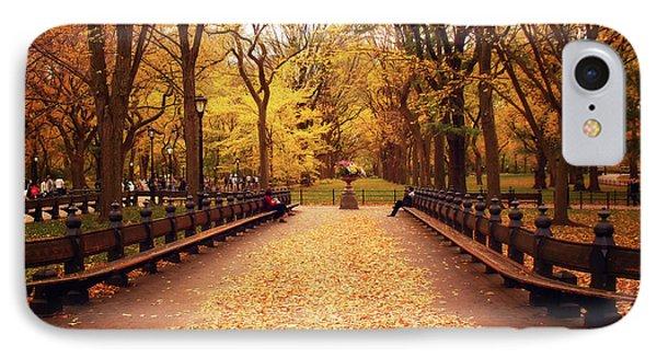 Autumn - Central Park - New York City Phone Case by Vivienne Gucwa