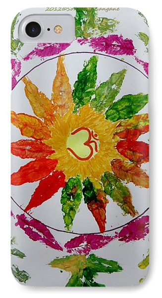 Autumn Chakra IPhone Case by Sonali Gangane