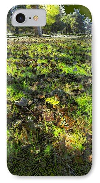 Autumn Colors IPhone Case by Anne Mott