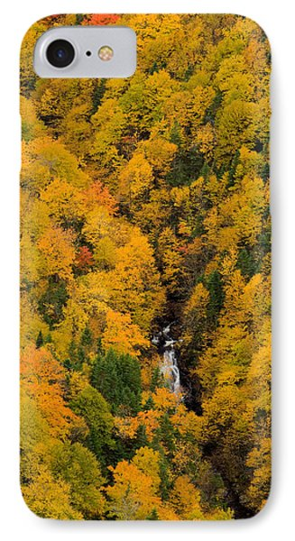 Autumn Colour And Waterfalls, Cape Phone Case by John Sylvester