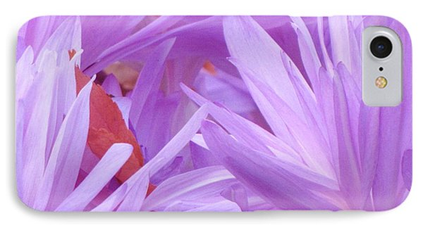 IPhone Case featuring the photograph Autumn Crocus by Michele Penner