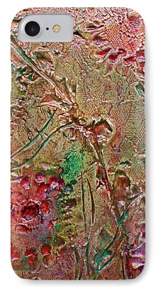 IPhone Case featuring the painting Autumn Daze by D Renee Wilson