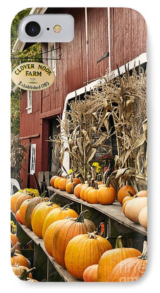 Autumn Farm Stand  Phone Case by John Greim