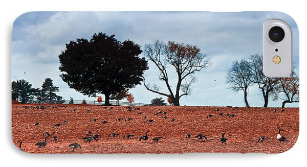 Autumn Geese Phone Case by Bill Cannon