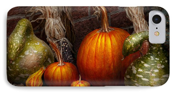 Autumn - Gourd - Family Get Together Phone Case by Mike Savad