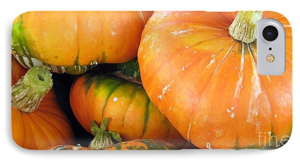 IPhone Case featuring the photograph Autumn Harvest by Kathy Bassett