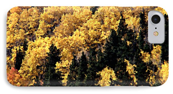 Autumn In Colorado Painting IPhone Case by Donna Greene
