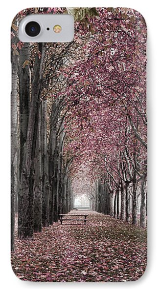 Autumn In The Grove IPhone Case by Angel Jesus De la Fuente