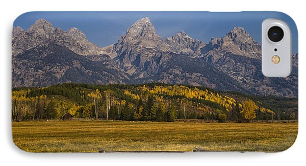Autumn In The Tetons Phone Case by Andrew Soundarajan