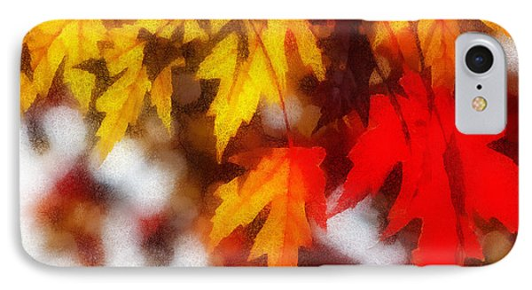 Autumn Leaves IPhone Case by Billie-Jo Miller