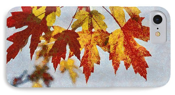 Autumn Leaves IIi IPhone Case by Billie-Jo Miller