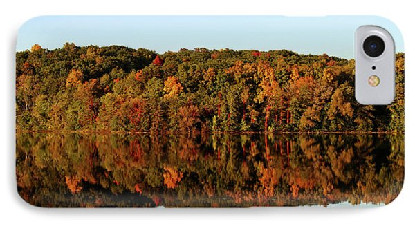 IPhone Case featuring the photograph Autumn Mirror by Rachel Cohen
