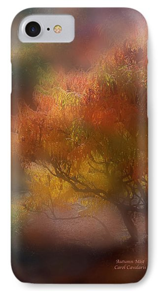 Autumn Mist IPhone Case by Carol Cavalaris