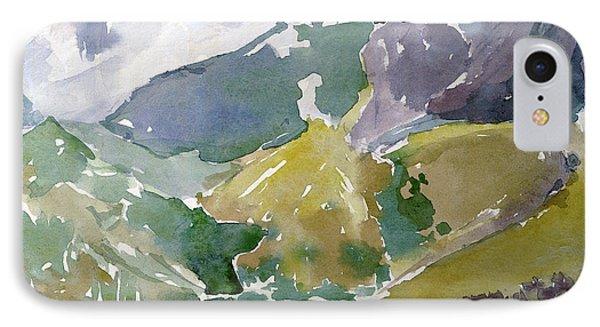 Autumn Mountains IPhone Case by Dariusz Gudowicz