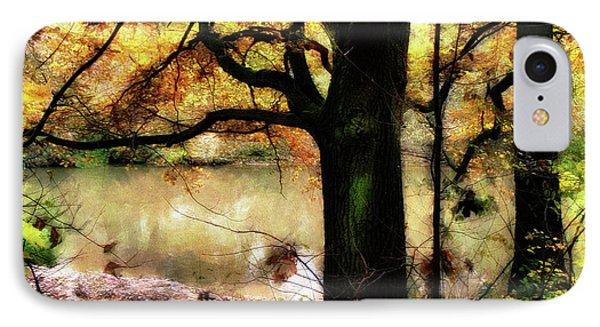 Autumn Oak Tree IPhone Case by Dariusz Gudowicz