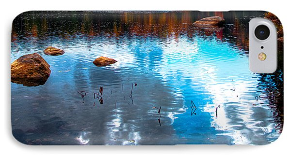 Autumn On Cary Lake Phone Case by David Patterson