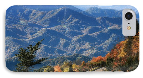 IPhone Case featuring the photograph Autumn On The Blue Ridge Parkway by Lynne Jenkins