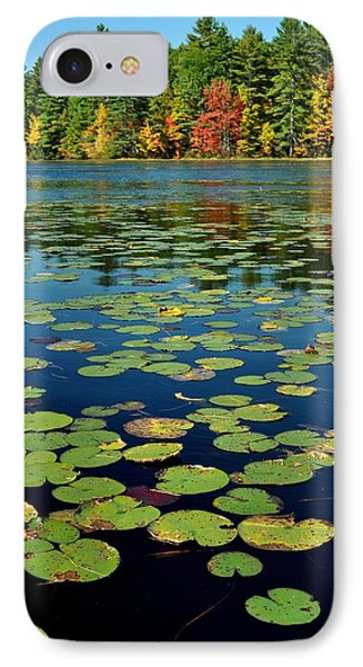 Autumn On The River Phone Case by Rick Frost