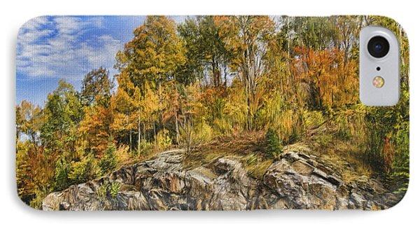 Autumn On The Rocks Phone Case by Jo-Anne Gazo-McKim