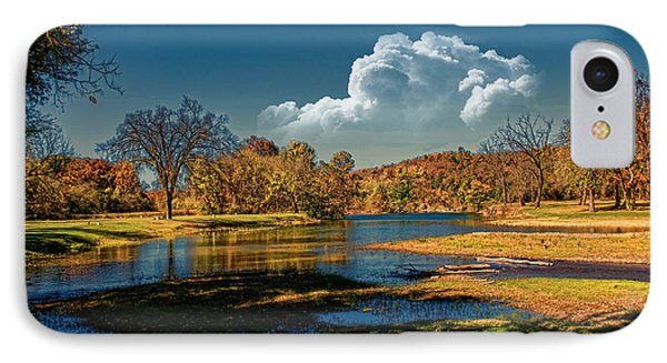 Autumn On The South Fork IPhone Case by Rick Friedle