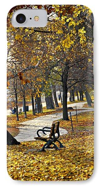 Autumn Park In Toronto Phone Case by Elena Elisseeva
