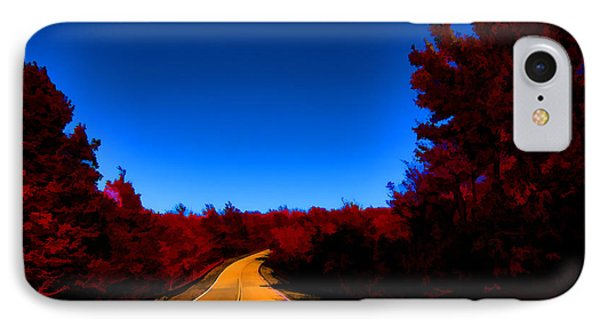 Autumn Red IPhone Case by Douglas Barnard