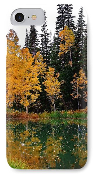 Autumn Reflections IPhone Case by Bruce Bley
