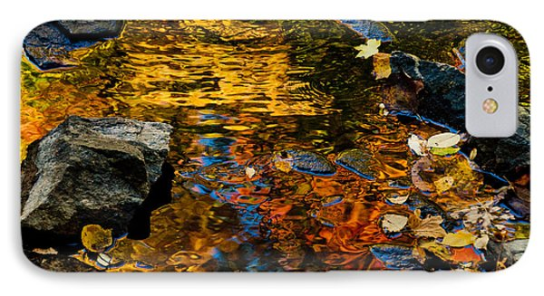 IPhone Case featuring the photograph Autumn Reflections by Cheryl Baxter