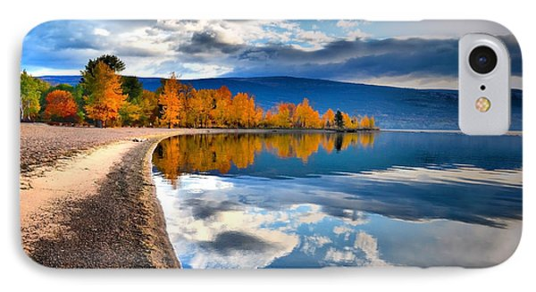 Autumn Reflections In October Phone Case by Tara Turner