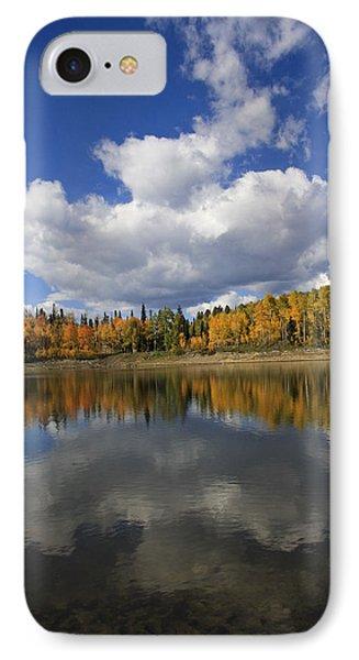 Autumn Reflections Portrait IPhone Case