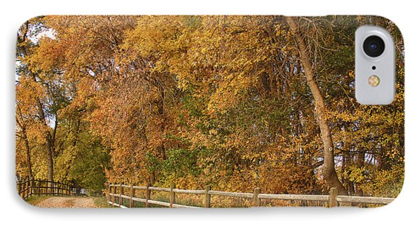 Autumn  Road To The Ranch Phone Case by James BO  Insogna