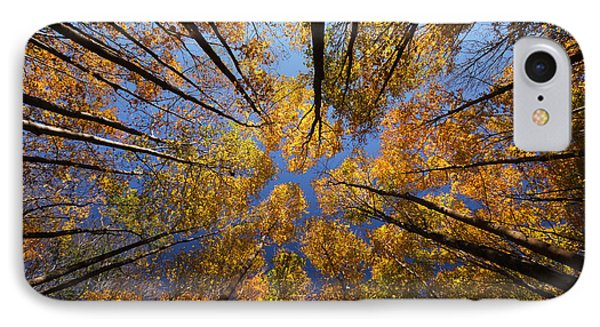 Autumn Sky Phone Case by Mircea Costina Photography