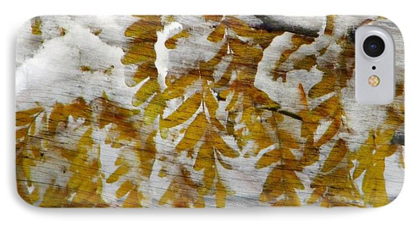 Autumn Snow IPhone Case by Michelle Frizzell-Thompson