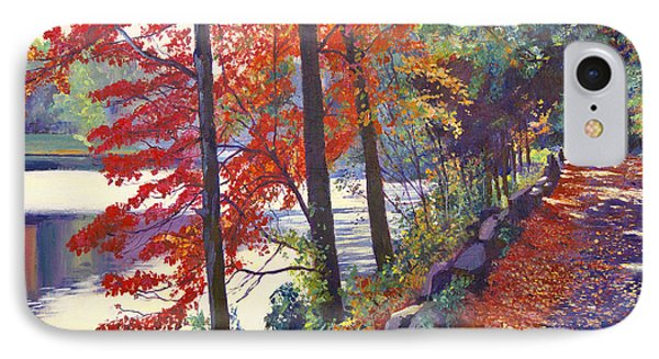 Autumn Sonata IPhone Case by David Lloyd Glover