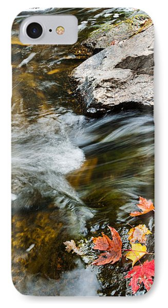 IPhone Case featuring the photograph Autumn Stream by Cheryl Baxter
